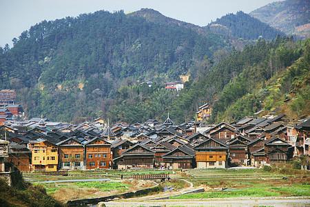 贵州肇兴侗族寨子图片