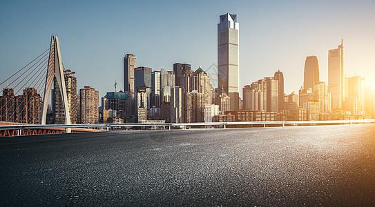 重庆城市道路背景图片