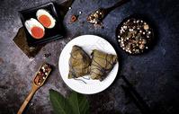 糯米粽子咸鸭蛋图片