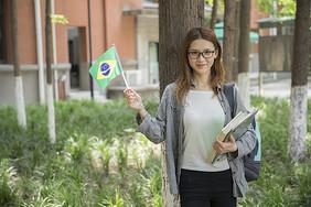 去巴西留学图片