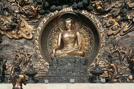 宗教青铜佛像雕塑江苏无锡灵山大佛图片