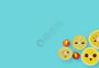 柠檬清新简约背景图片