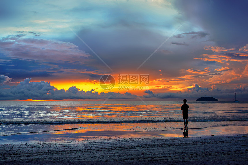 海边美丽的风光图片