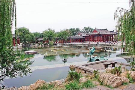 陕西西安华清池景区图片