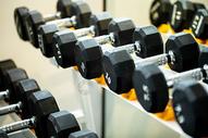 健身房哑铃图片