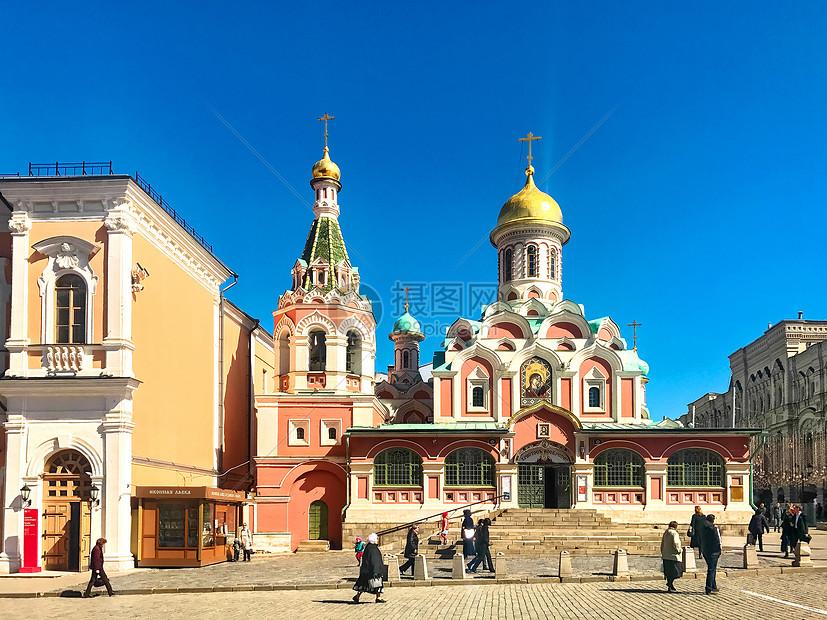 莫斯科喀山圣母大教堂图片