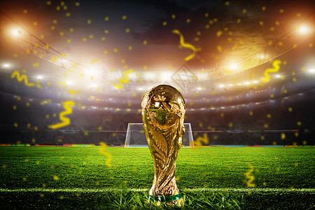 2018俄罗斯世界杯奖杯图片