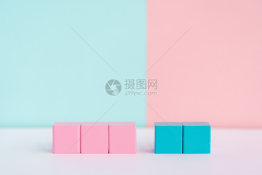 概念性别方块图片