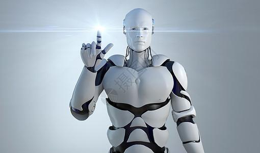 科技机器人场景图片