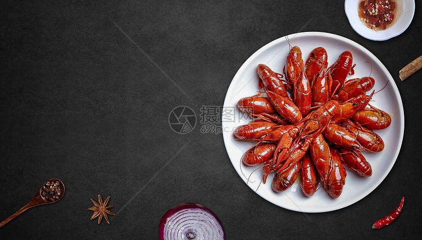 美食海报背景图片
