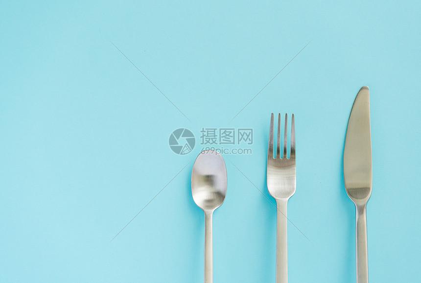 西式餐具图片