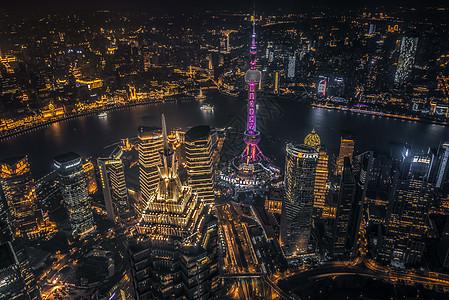 上海地标夜景图片