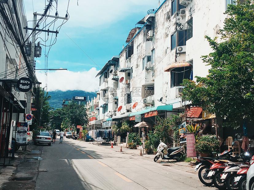 泰国清迈小城风光图片