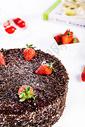 可可巧克力蛋糕图片