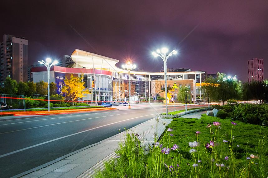 花园城市夜景图片