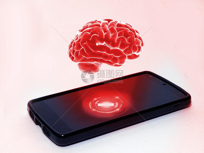 手机辐射图片