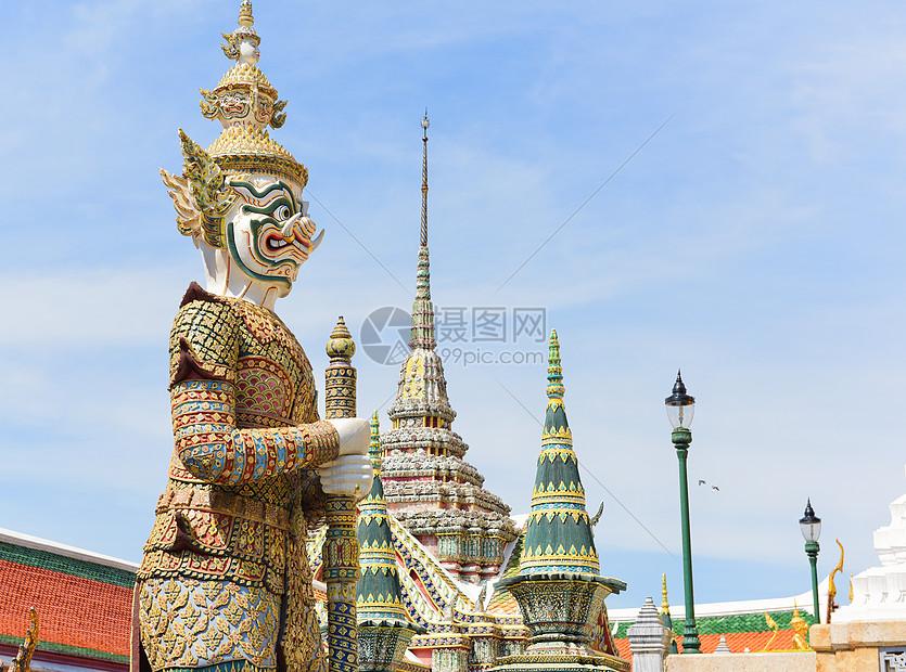 泰国曼谷大皇宫景区图片