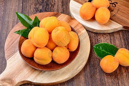 水果杏子图片