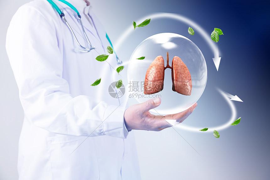 保护肺部图片