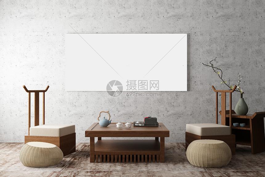 海报样机背景图片