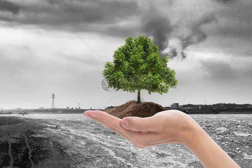 环境污染 图片