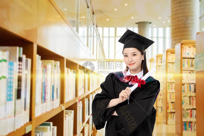 大学毕业图片