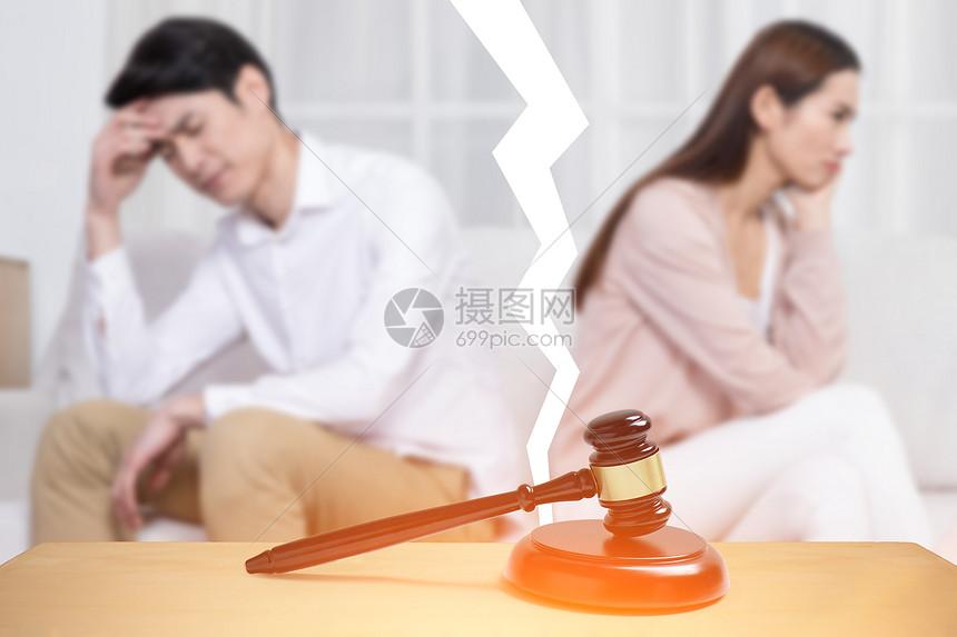 决定离婚的夫妻图片