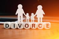 离婚概念图片