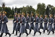 俄罗斯莫斯科克里姆林宫护卫兵图片