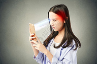 手机辐射的危害图片