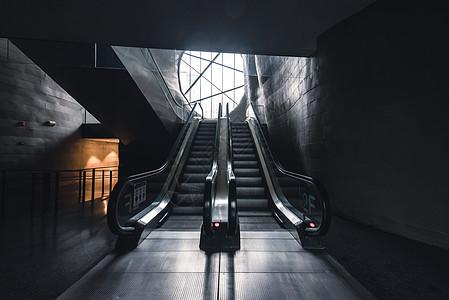 扶梯的艺术图片