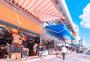日本冲绳街景海边图片