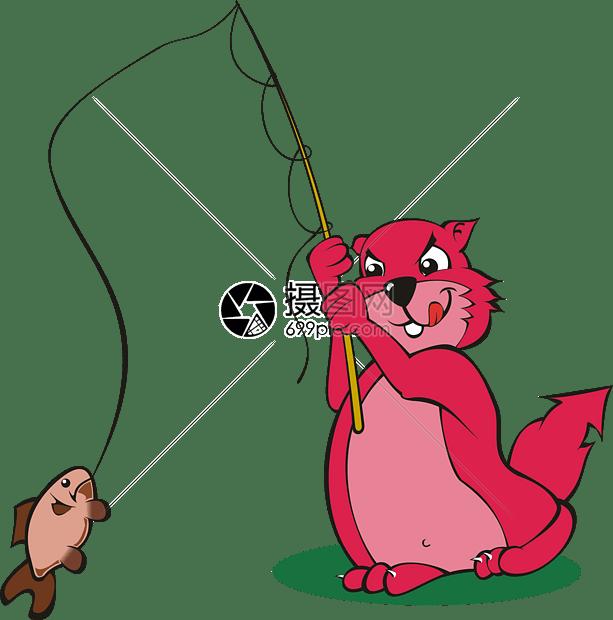 卡通动物猫和老鼠图片