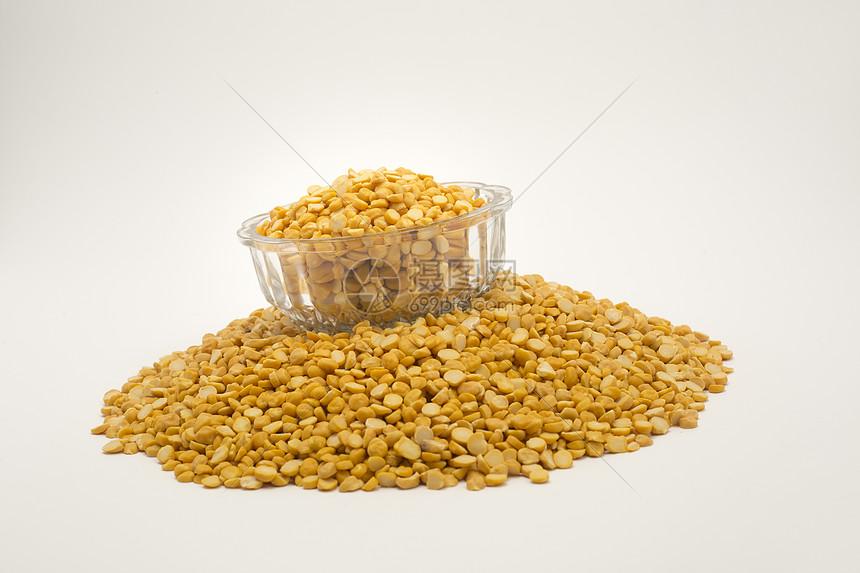 粮食小米图片