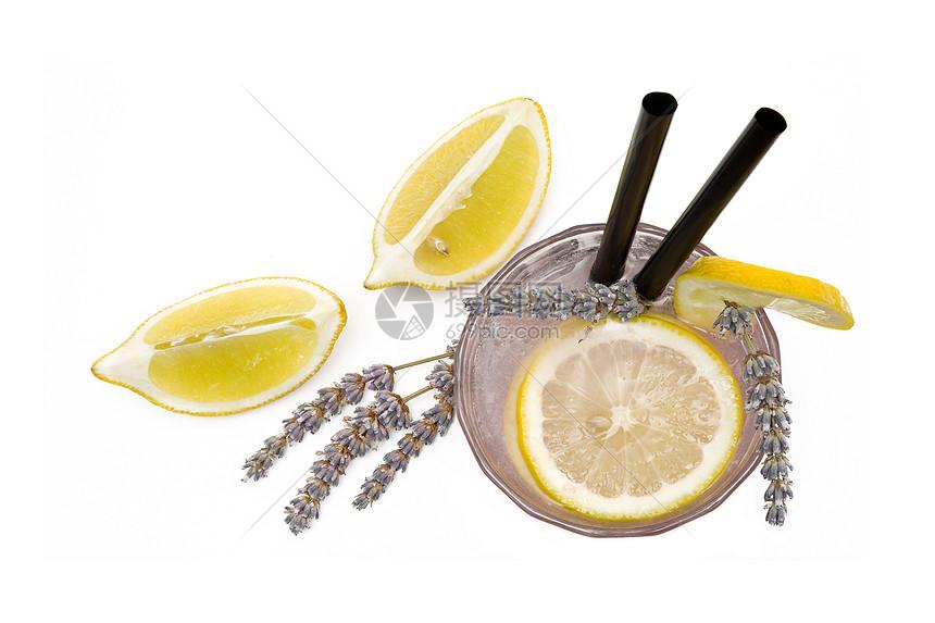 柠檬片图片