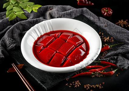 火锅食材之鸭血图片