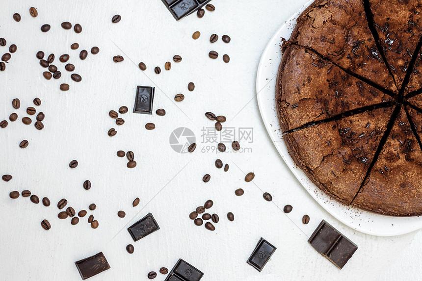 巧克力糕点图片