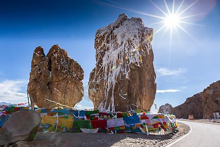 西藏纳木错标志性景点图片