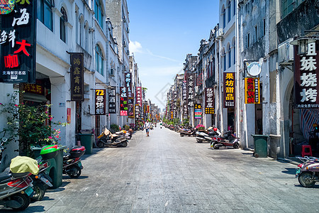 北海老街街景图片