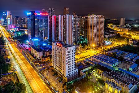 武汉中北路夜景图片