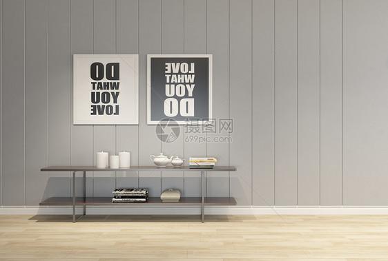 室内简约装饰图片