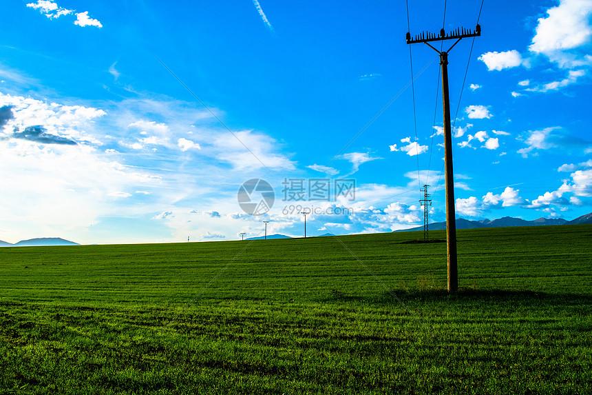 绿色田园图片