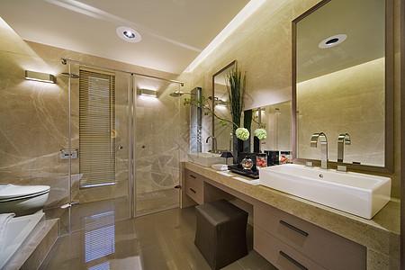 洗漱间卫生间图片