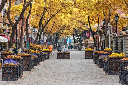 武汉汉口文艺步行街黎黄陂路图片