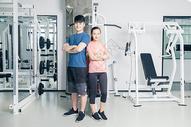 健身房人像形象展示图片