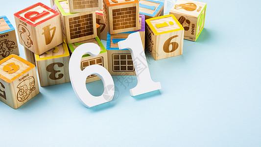 六一玩具创意摆拍图片
