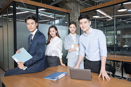 商务团队企业形象照团队展示图片