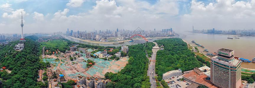 武汉南岸嘴全景长片图片