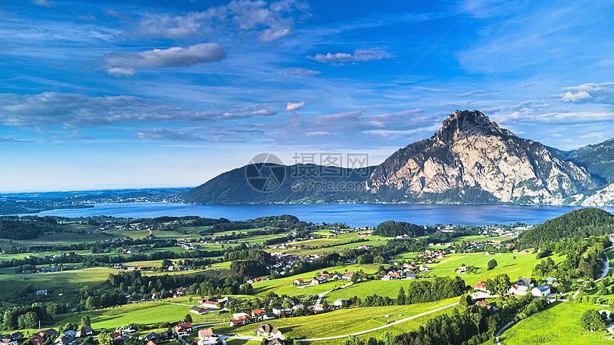山清水秀的高山美景图片