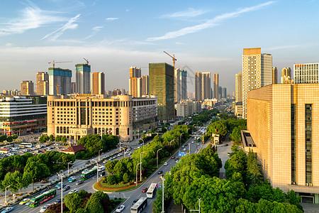 武汉发展大道街景图片